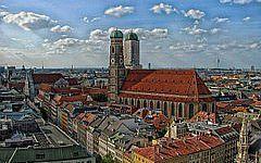 バイエルン州の首都ミュンヘン。