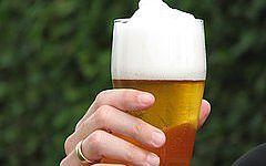 Bier aus den deutschen Brauereien.